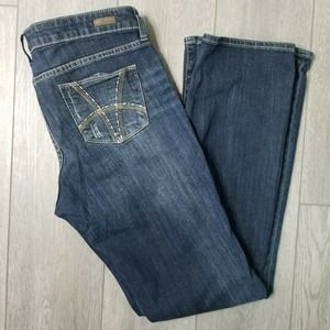 Kut from the Kloth Farrah Baby Bootcut Jeans Sz 10